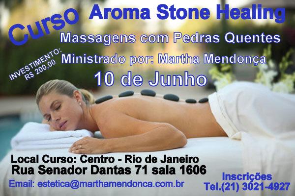 Curso de Aroma Stone Healing